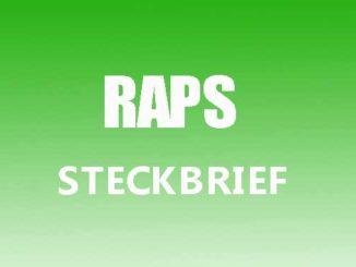 Teaserbild - Raps Steckbrief