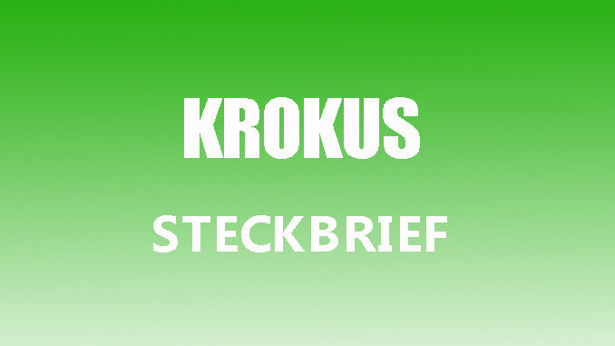 easerbild - Krokus Steckbrief
