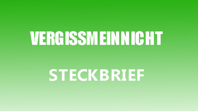 Teaserbild - Vergissmeinnicht Steckbrief